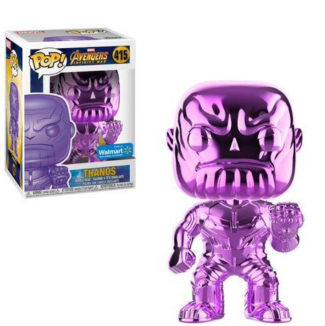 Funko POP! Marvel: Avengers Infinity War - Purple Thanos Chrome Vinyl Figure (Walmart Exclusive) - image 1 of 1