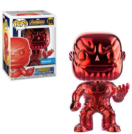 Funko POP! Marvel: Avengers Infinity War - Red Thanos Chrome Vinyl Figure (Walmart Exclusive) - image 1 of 1