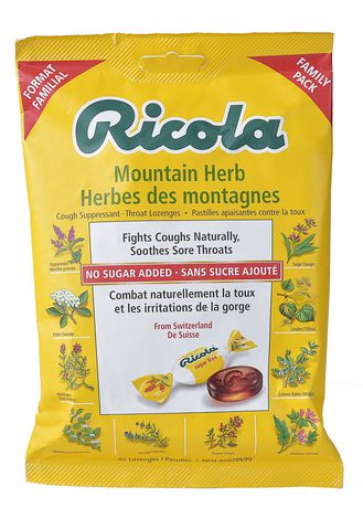 Ricola Mountain Herbs Suppressant Throat Lozenges - image 2 of 6