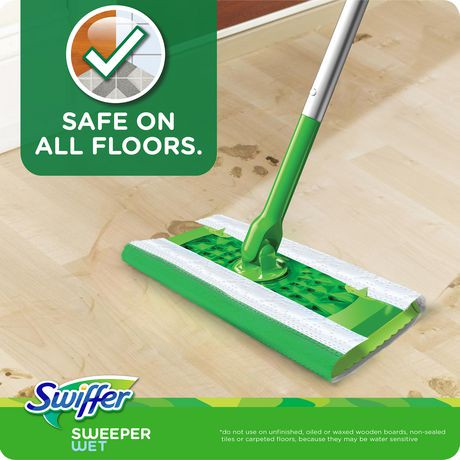 Swiffer Sweeper Wet Mopping Pad Multi Surface Refills For