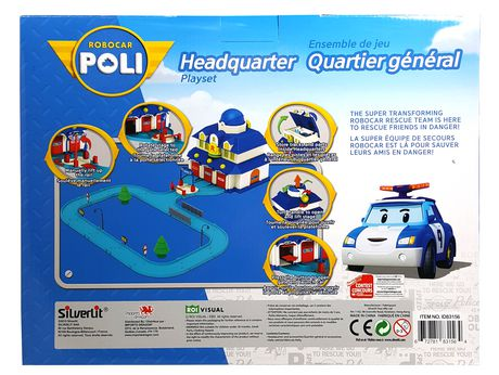 Robocar poli headquarters playset walmart canada - Poli robocar en francais ...