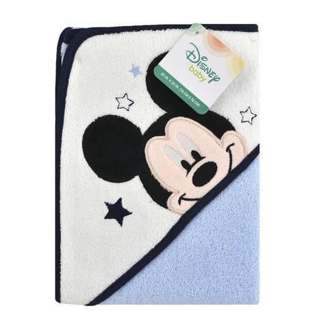 Disney Boys' Mickey Mouse Hooded Towel - image 1 of 2