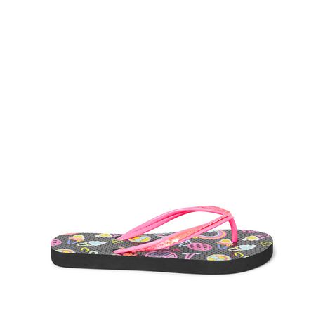 George Girls' Icon Flip Flops - image 1 of 4