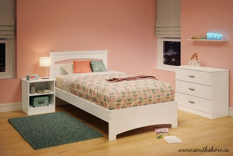 South shore smart basic twin bed set 39 39 39 walmart canada for South shore bedroom set walmart