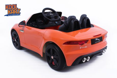 Kool Karz Jaguar F-Type Ride on Toy Car - Orange - image 2 of 3