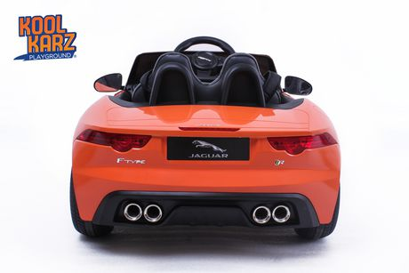 Kool Karz Jaguar F-Type Ride on Toy Car - Orange - image 3 of 3
