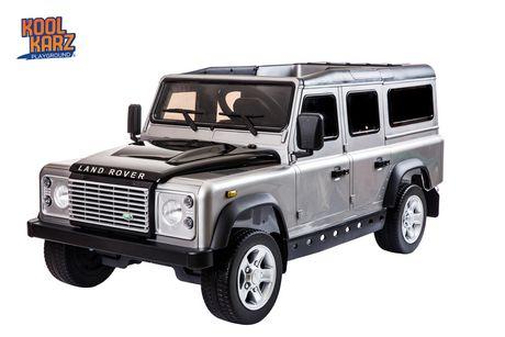 Kool Karz Land Rover Defender  Jouet-porteur - Argent - image 1 de 1