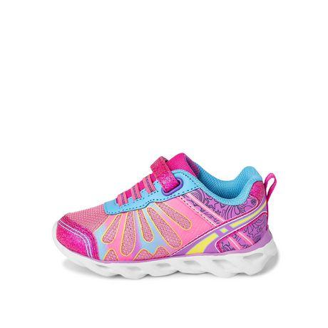 Chaussures de course avec papillons Athletic Works pour petites filles - image 3 de 5