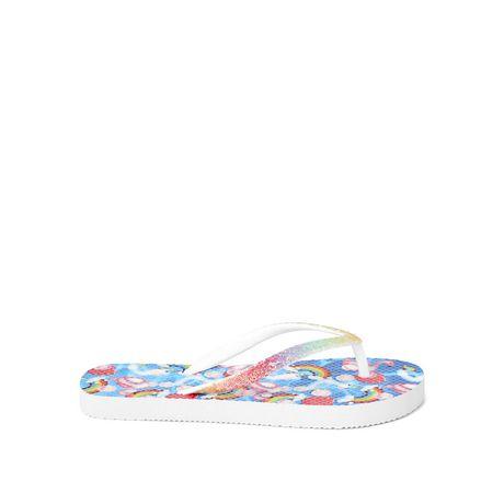 George Girls' Party Flip Flops - image 1 of 4