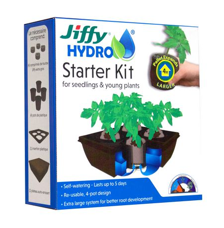Jiffy Hydro Starter Kit - image 1 of 1