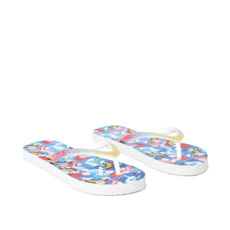 George Girls' Party Flip Flops - image 2 of 4