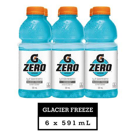Gatorade Zero Sports Drink, Glacier Freeze - image 1 of 1