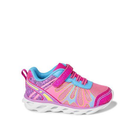 Chaussures de course avec papillons Athletic Works pour petites filles - image 1 de 5