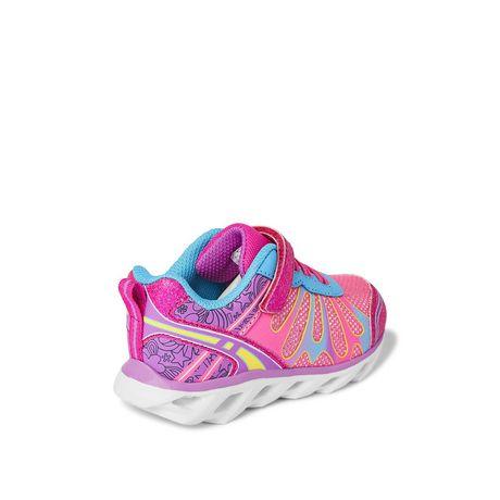 Chaussures de course avec papillons Athletic Works pour petites filles - image 4 de 5