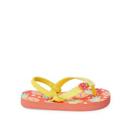 George Toddler Girls' Fruit Sandals - image 1 of 4