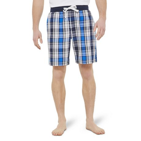 George Men's Twill Sleep Shorts - image 1 of 6