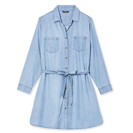 George Plus Women's Denim Dress - image 6 of 6