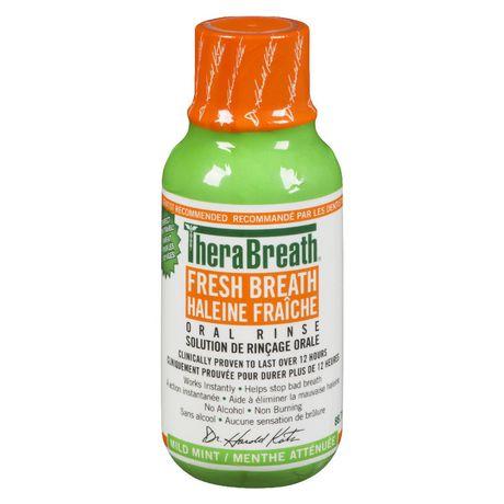 TheraBreath Fresh Breath Mild Mint Oral Rinse Solution   Walmart Canada