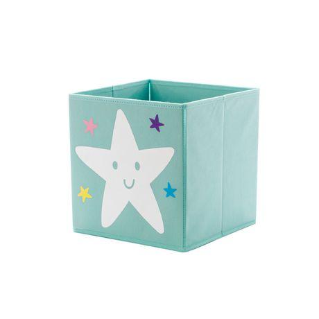 Bac de rangement cube Mainstays Kids - Étoile - image 1 de 2