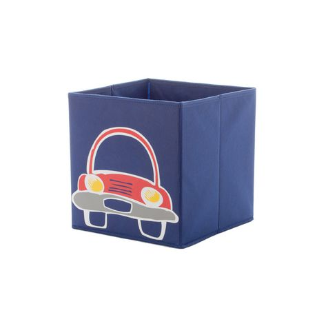 Bac de rangement cube Mainstays Kids - voiture - image 1 de 2