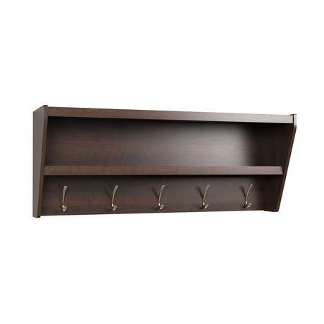 tag re d entr e avec portemanteau couleur expresso walmart canada. Black Bedroom Furniture Sets. Home Design Ideas