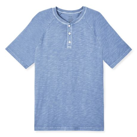 George Men's Raglan Textured Henley - image 6 of 6