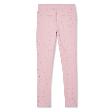 George Girls' French Terry Jegging - image 2 of 2