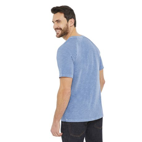 George Men's Raglan Textured Henley - image 3 of 6