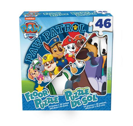 Cardinal Games PAW Patrol - 46-Piece Floor Puzzle - image 1 of 1