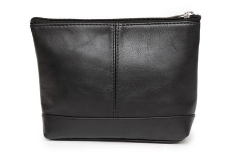 1bad03343b77 Ashlin Leather Large Utility Cosmetic Bag - Black