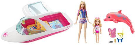 Ens. de jeu Bateau Barbie et Chelsea - image 2 de 5