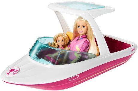 Ens. de jeu Bateau Barbie et Chelsea - image 3 de 5
