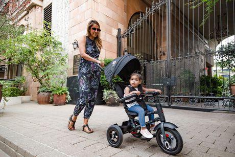 Tricycle Pliable QPlay Rito Plus - Bordeaux - image 4 de 6