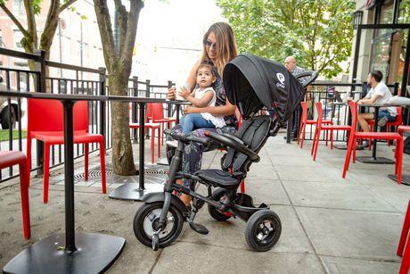 Tricycle Pliable QPlay Rito Plus - Bordeaux - image 5 de 6