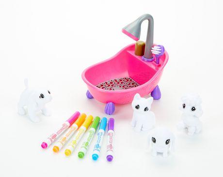 Ensemble de baignoire et d'animaux de compagnie Crayola Scribble Scrubbie - image 6 de 9