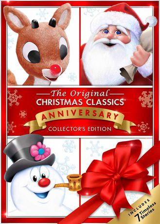 the original christmas classics collection rudolph the red nosed reindeer santa claus is comin to town frosty the snowman frosty returns mr - Rudolph And Santa