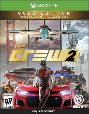 the crew 2 gold edition xbox one walmart canada. Black Bedroom Furniture Sets. Home Design Ideas