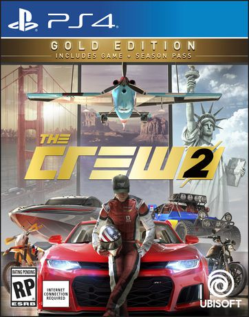 the crew 2 gold edition ps4 walmart canada. Black Bedroom Furniture Sets. Home Design Ideas