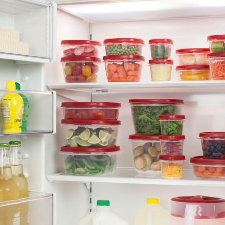 Rubbermaid Easy Find Lid Food Storage Container, 9.5 Liter, Red - image 4 of 4