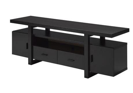 Table TV 60 po avec rangement, Cerise Foncée - image 2 de 2