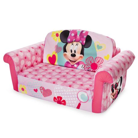 Awe Inspiring Marshmallow Furniture Childrens 2 In 1 Flip Open Foam Sofa Minnie Mouse By Spin Master Machost Co Dining Chair Design Ideas Machostcouk