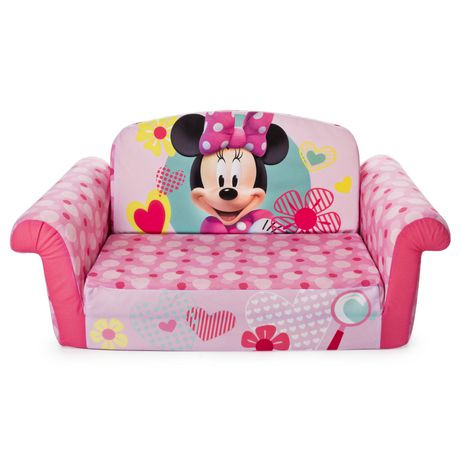 mobilier marshmallow canap d pliable minnie mouse. Black Bedroom Furniture Sets. Home Design Ideas