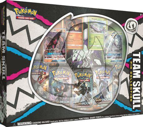 Pokemon Team Skull Gx Pin Box - English Only - image 1 of 3