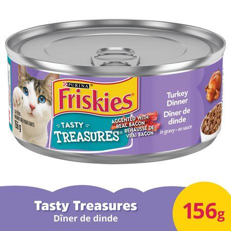 Friskies Tasty Treasures Wet Cat Food; Turkey Dinner in Gravy - image 3 of 3