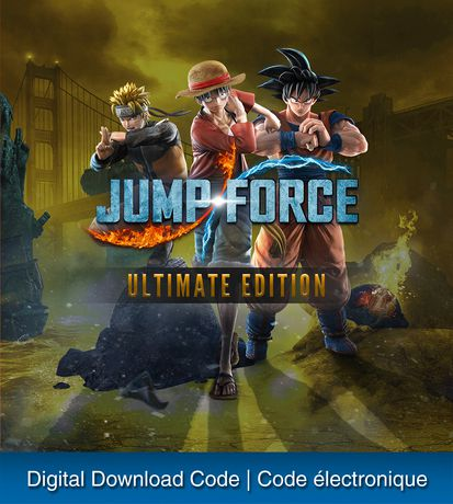 jump force ultimate edition ps4
