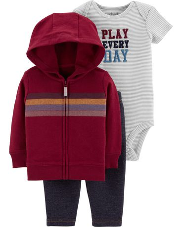 6f6936704 Child of Mine made by Carter s Infant Boys 3pc Clothing set-stripe ...