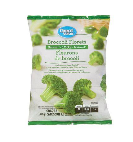 Great Value Frozen Broccoli Florets - image 1 of 2