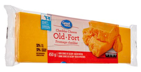 Great Value Cheddar Cheese Old - image 2 of 3