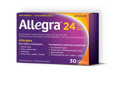 Allegra 24 Hour Allergy Relief Tablets - image 1 of 4