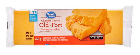 Great Value Cheddar Cheese Old - image 1 of 3